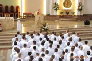 Błogosławieństwo nowych lektorów 05.05.16