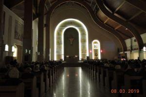 Droga Krzyżowa prowadzona przez kapłanów naszej Parfiii