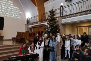 Kolędowanie z Licealistami ze Szkoły Muzycznej 29.12.2019