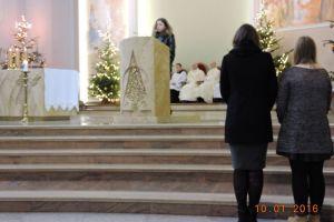 Liceum Muzyczna - Msza Święta 10.01.16